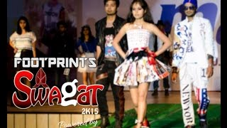 Swagat 2015 | Footprints - Fashion Show | NIT Allahabad