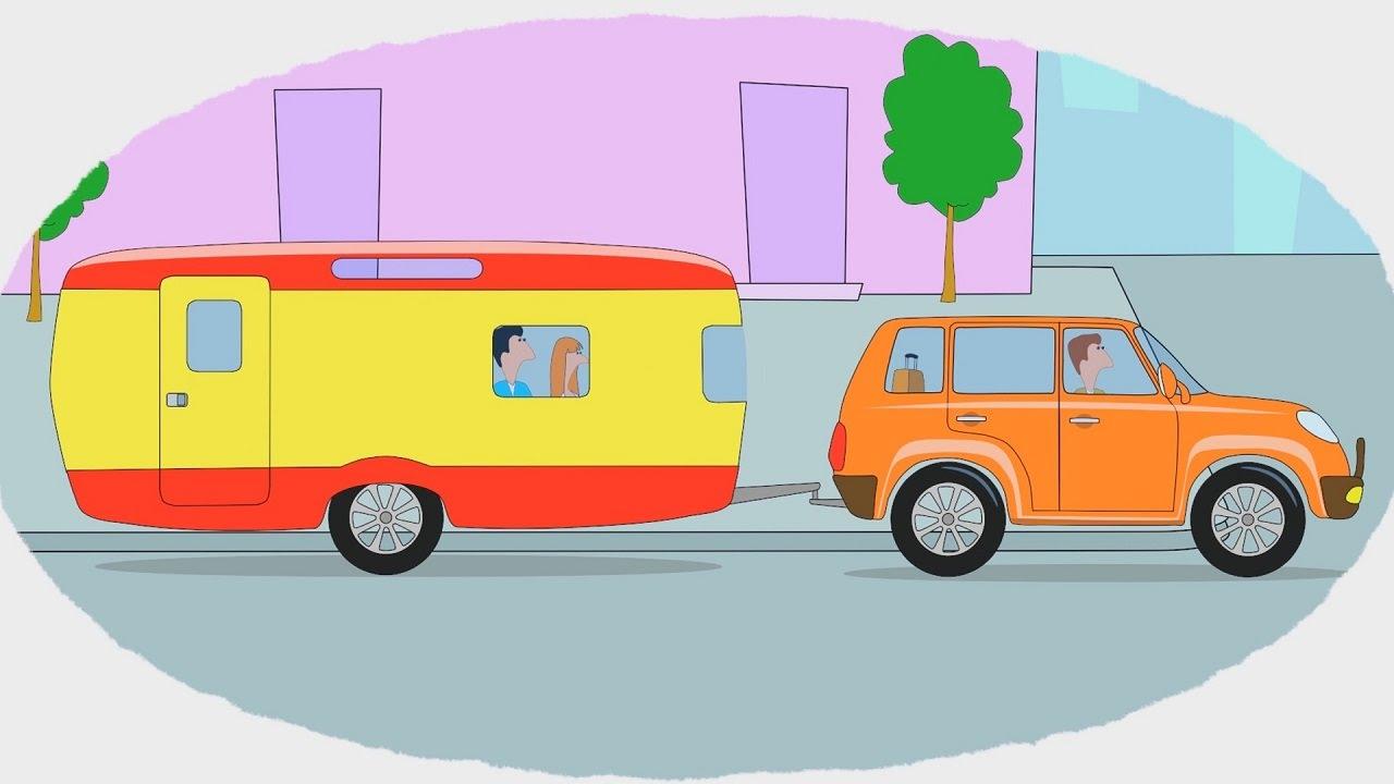 Мультик - Раскраска. Учим Цвета - Мультфильмы про машины ...