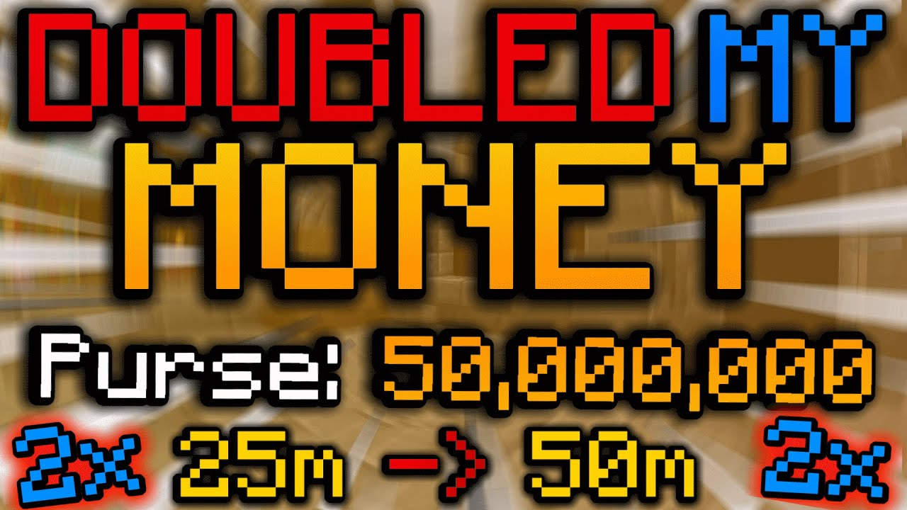 How I DOUBLED my money in a few minutes - (Hypixel Skyblock)