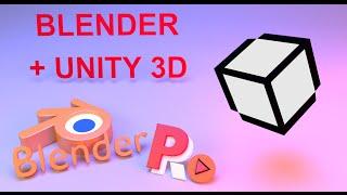 Моделирование и текстурирование в Blender для unity 3D