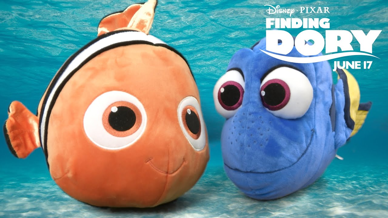 finding dory large stuffed dory nemo from bandai youtube