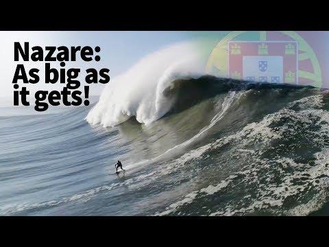 Rodrigo Koxa World Record | Nazare Portugal Biggest Waves Ever