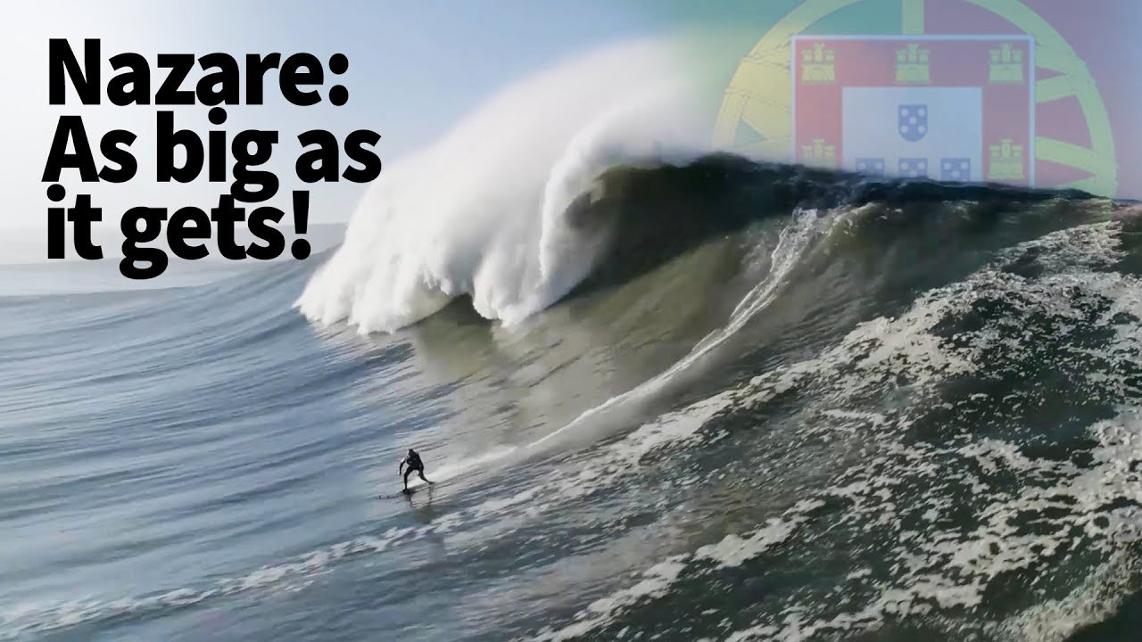 Why is Nazare the biggest waves in the world? 34