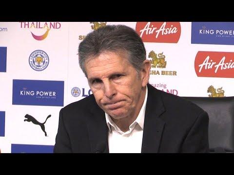Claude Puel Full Pre-Match Press Conference - Leicester v Newcastle - Premier League