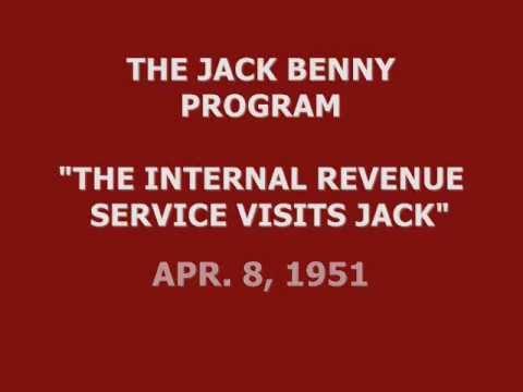"""Download THE JACK BENNY PROGRAM -- """"THE I.R.S. VISITS JACK"""" (4-8-51)"""
