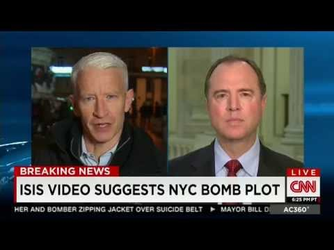 Rep. Schiff Discusses ISIS War Strategy and Risk from Visa Waiver Program withCNN's Anderson Cooper