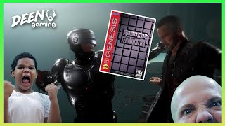 NOT MORTAL KOMBAT.. | Robocop Vs. The Terminator (Sega Genesis) - #TBT Deen Gaming