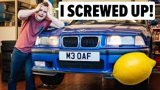 I Screwed Up By Buying An E36 M3 Lemon thumbnail