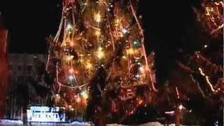 Ковель.Новогодняя елка.2013