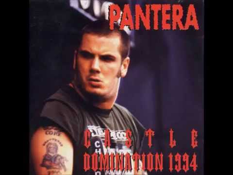 Pantera Live 94' - The Art Of Shredding - Castle Domination (RARE)