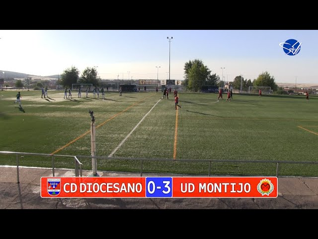 Resumen: CD Diocesano - UD Montijo (Pretemporada 21/22)
