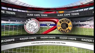 Absa Premiership 2017/18 - Ajax Cape Town vs Kaizer Chiefs