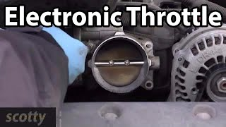 How To Replace A Bad Electronic Throttle On Your Car