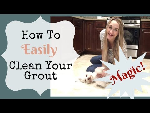 HOW TO CLEAN GROUT IN 10 MINUTES!!   Without Getting On Your Hands and Knees   The Floor Guys