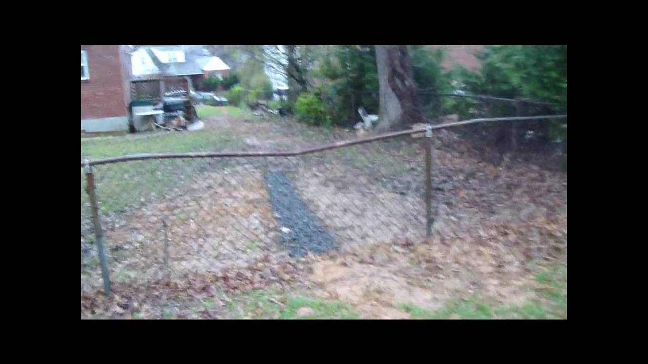 french drain system youtube