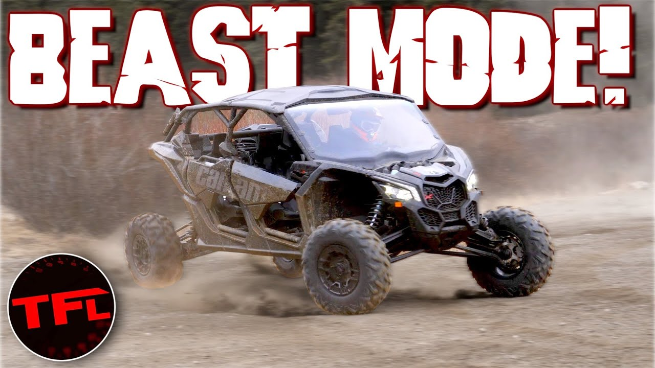 Download This Can-Am Maverick X3 Is the Most Extreme Off-Road Machine You Can Buy Today!