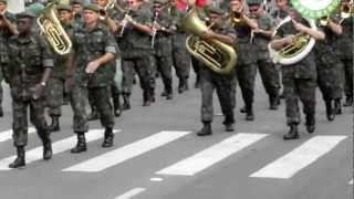 Desfile do 38º BI - Batalhão Tiburcio