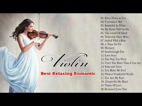 Le più grandi canzoni d'amore per violino ❤️❤️ I più bei brani con il violino  ❤️❤️