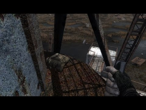 Stalker Call of Pripyat Misery 2 - Zaton craine stash  
