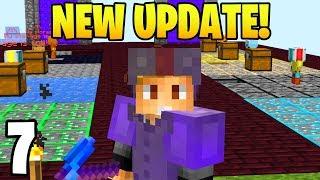 NEW SKYBLOCK UPDATE = HARD!  | Hypixel Skyblock #7