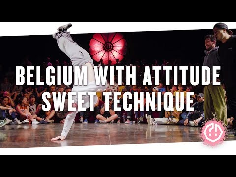 BELGIUM WITH ATTITUDE 🍑 SWEET TECHNIQUE • Semifinal 2018