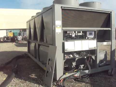 2010 Carrier 30xa120 120 Ton Air Cooled Chiller Load Test
