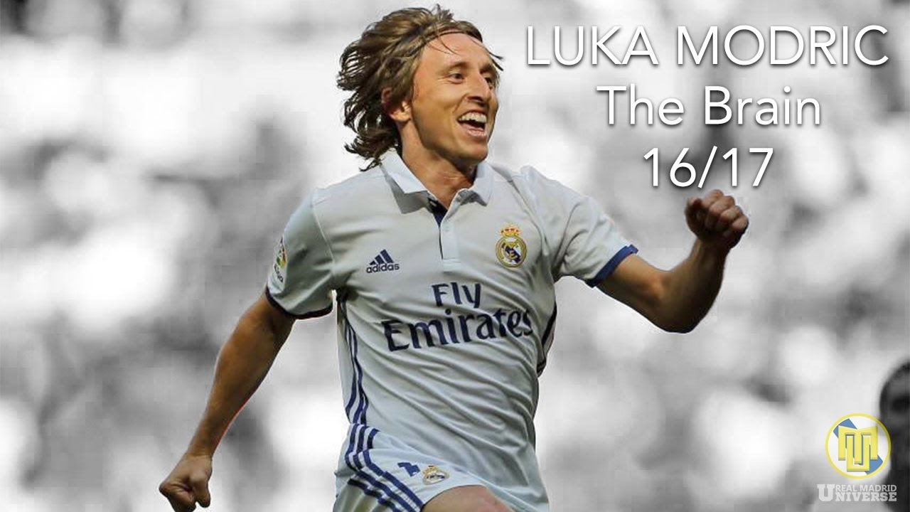Luka Modric ○ The Brain ○ 2016 2017 HD
