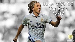 Luka Modric  The Brain  20162017 HD