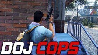Dept. of Justice Cops #621 - Zero Mercy Guerrilla Warfare