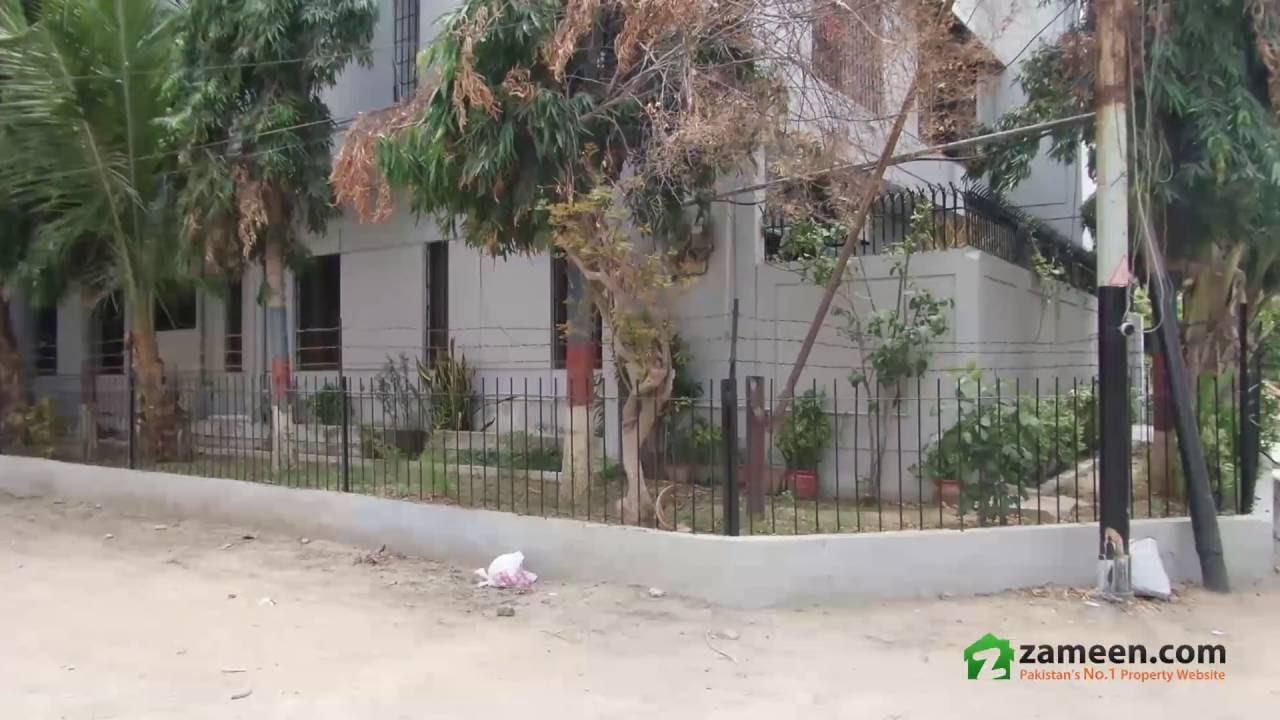 240 YARDS FURNISHED CORNER HOUSE FOR SALE IN GULSHAN-E-IQBAL KARACHI