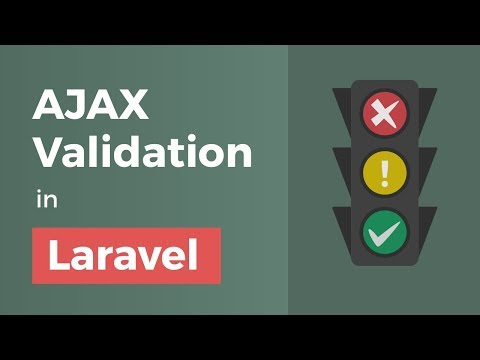 AJAX Validation in Laravel