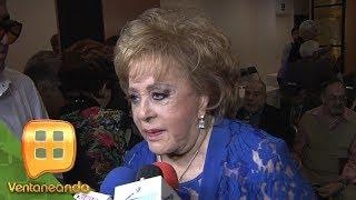 ¡SILVIA PINAL HOSPITALIZADA! La actriz tiene problemas respiratorios y está en tratamiento.