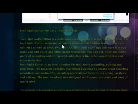 SERIAL PRO 7.9.1 MP3 AUDIO BAIXAR EDITOR