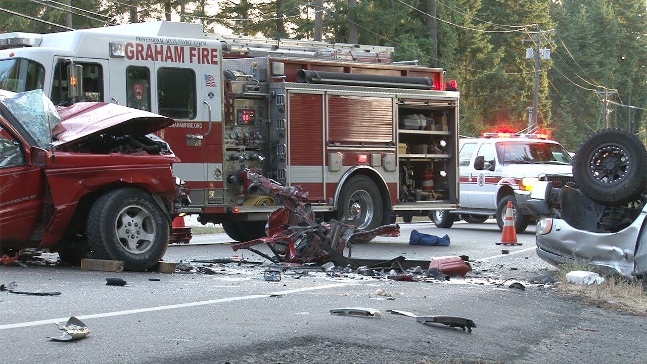 Graham Wa Weather >> Two Car Accident 9600 Block 224th St E Graham Wa