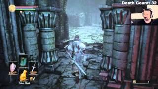 Dark Souls III playthrough pt26 - Hundred-Horned FREAKS Won't Stay Still!