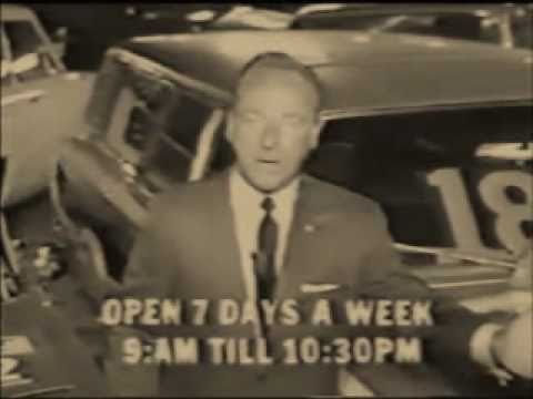'60s CAR SALESMAN TELLS IT LIKE IT IS - Rated R for Strong Language - Classic TV Commercial