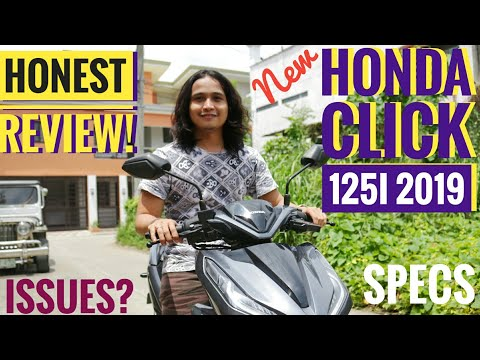 HONDA CLICK 125i Version 2 Game Changer 2019 | Honest Full Review | Issues and Observations