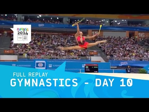 Rhythmic Gymnastics -  Women's Qualifications pt2 | Full Replay | Nanjing 2014 Youth Olympic Games