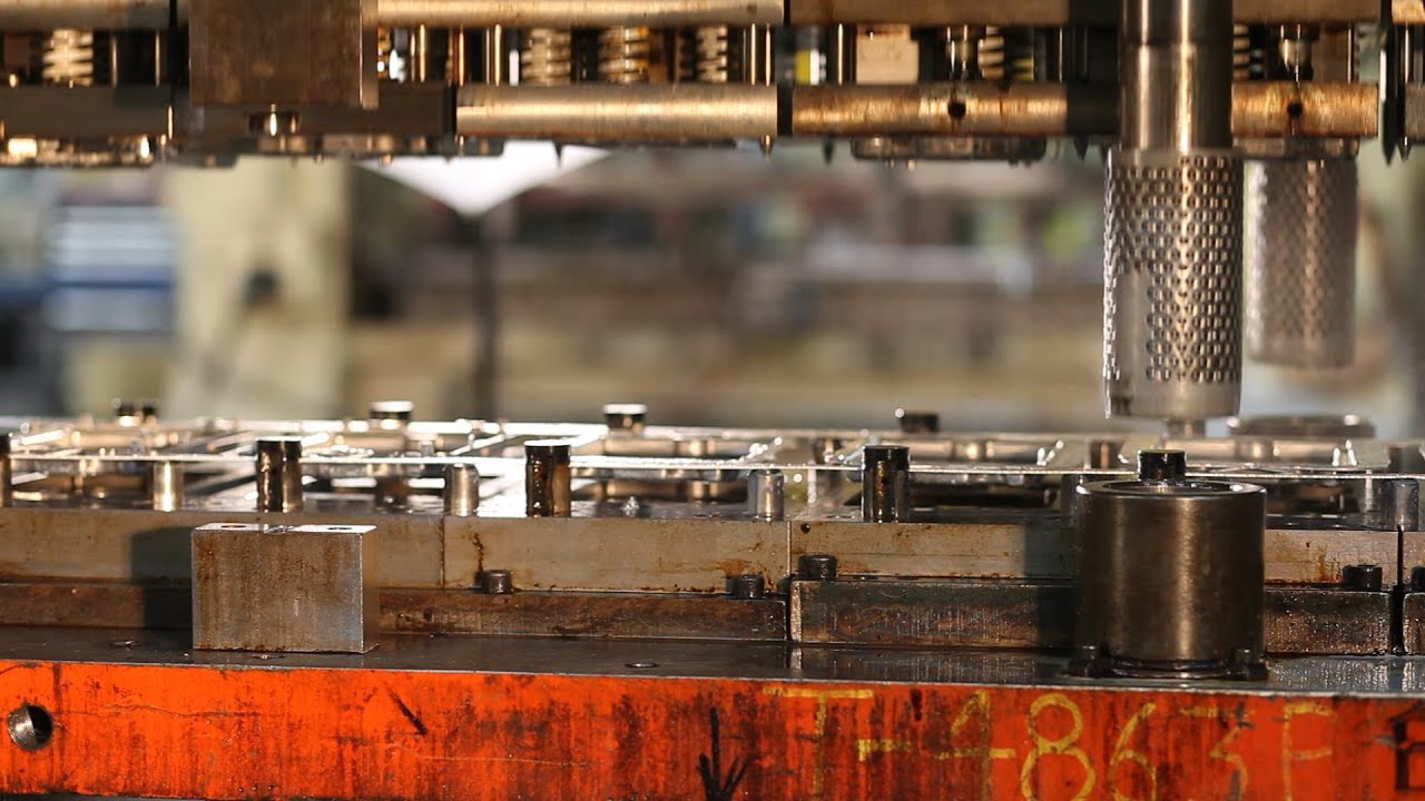 Manufacturing Video Progressive Die Stamping Process