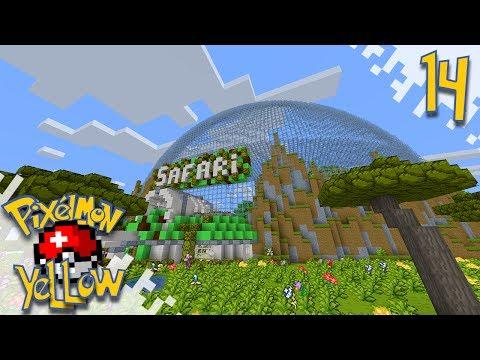 Pixelmon YELLOW!  - Safari! - Ep14 (Minecraft Pokemon Mod)