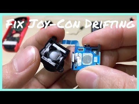 Fix Joy-Con Drift by CLEANING the Joystick 🕹 - Nintendo Switch