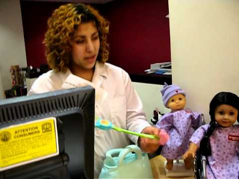 American Girl Place Doll, a Doctor reveals how your doll gets ...