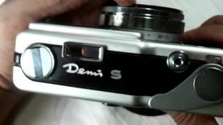 キャノン デミSの使い方 CANON DemiS How to use 1960s half frame camera