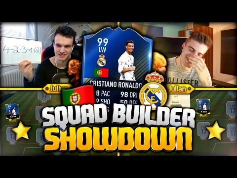 FIFA 17: 99 TOTY RONALDO SQUAD BUILDER SHOWDOWN 😱🔥