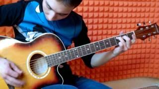 Уроки игры на гитаре в Тюмени - первое занятие бесплатно. ученик Данир
