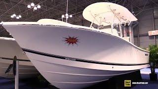 2015 Regulator 23 Fishing Boat - Walkaround - 2015 New York Boat Show