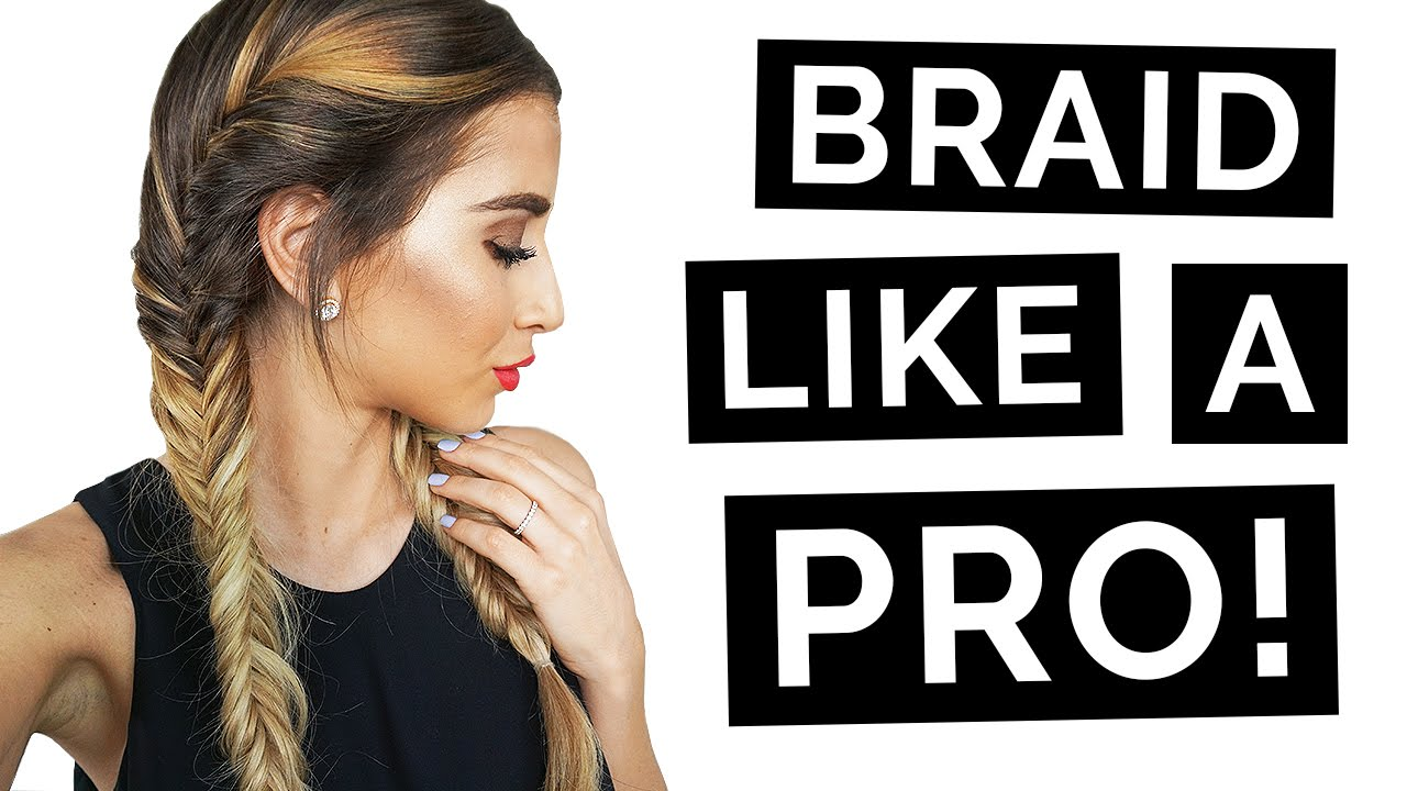 French Fishtail Braid Like A Pro Youtube