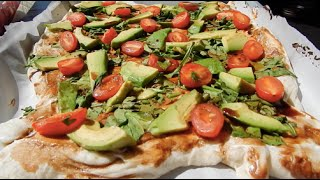 Quick + Easy Meals: Goat Cheese Avocado Pizza