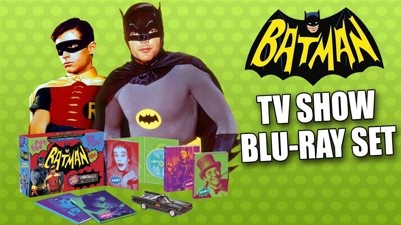 Download BATMAN Complete BLU-RAY TV Series Collectors Edition Unboxing Review