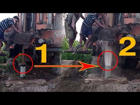 Borewell Digging - Ground Water Testing with Coconut and With Machar Borewell Drilling